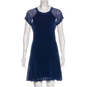 Theyskens' Theory Crew Neck Mini Dress
